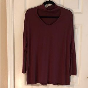 Cut-Out Long Sleeve
